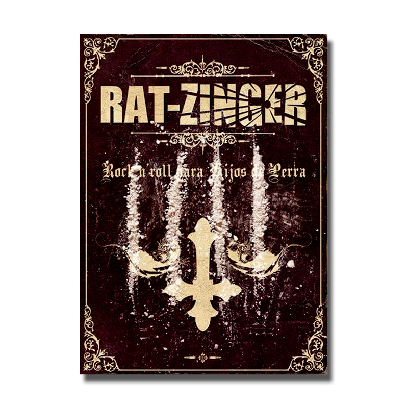 Libro CD RAT-ZINGER Rock'n'roll para hijos de perra