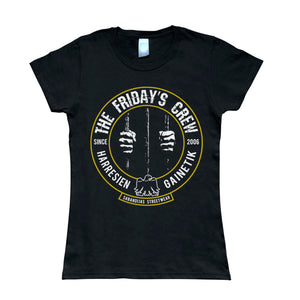 Camiseta manga corta mujer THE FRIDAY'S CREW manos rejas