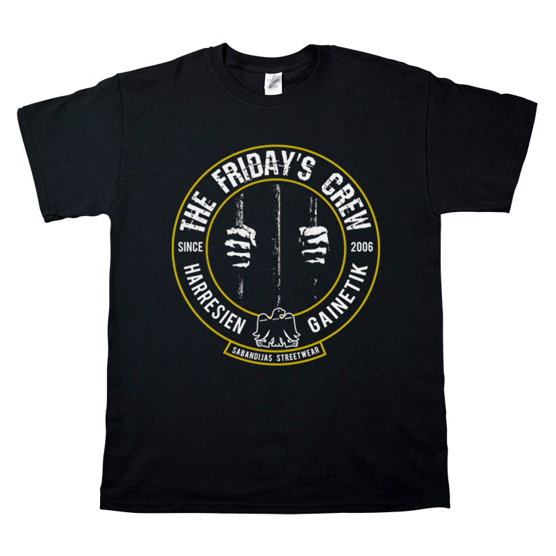 Camiseta manga corta hombre THE FRIDAY'S CREW manos rejas