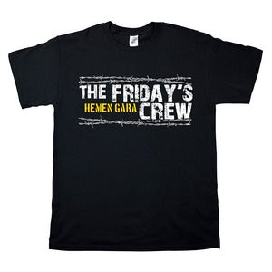 Camiseta manga corta hombre THE FRIDAY'S CREW hemen gara