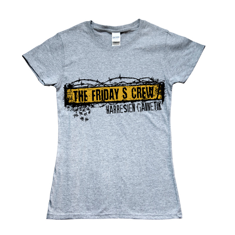 Camiseta manga corta mujer THE FRIDAY'S CREW harresien gainetik