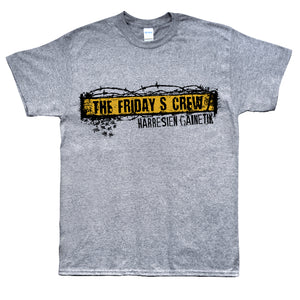 Camiseta manga corta hombre THE FRIDAY'S CREW harresien gainetik