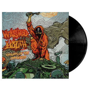 Vinilo WASTED YOUTH knights of the oppressed
