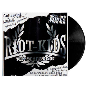 Vinilo RIOT KIDS 10 Years of Oi!