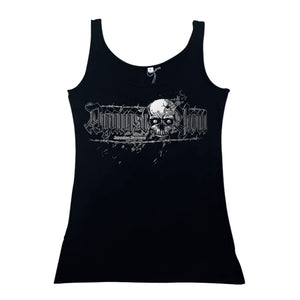 Camiseta tirantes mujer AGAINST YOU calavera
