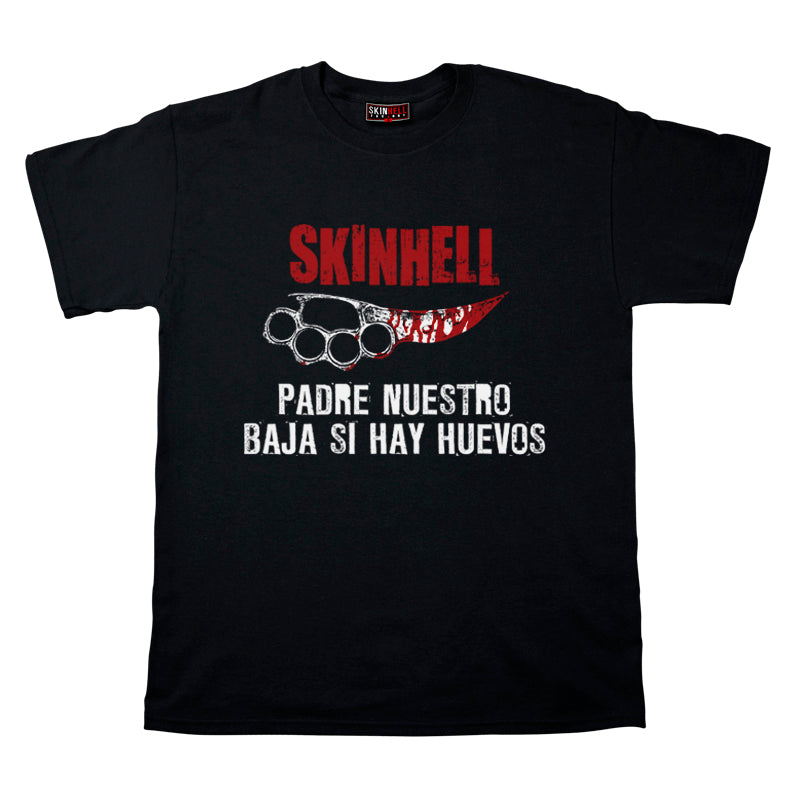 Camiseta manga corta hombre SKINHELL FACTORY Padre nuestro