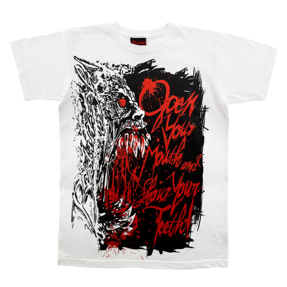 Camiseta manga corta hombre BESTIARGH! Open your mouth