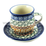 244 Espresso Cup and Saucers