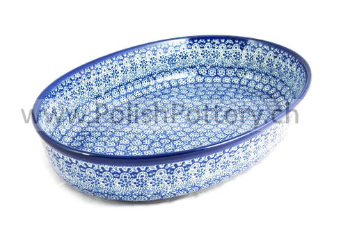 296 Large Oval Oven Dishes