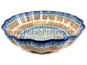 447 X Large Scalloped Bowls