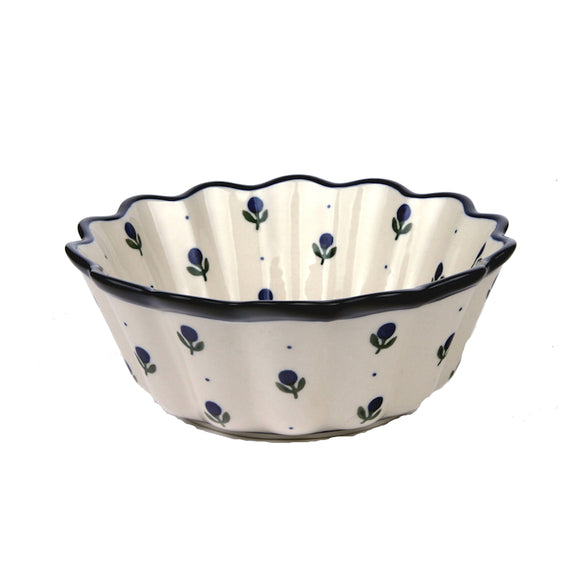 913 Fluted Bowl