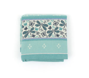 Tea Towel - Dragonfly Green