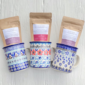 Tea-Lover Special | Select a mug pattern & Tea Blend to save!