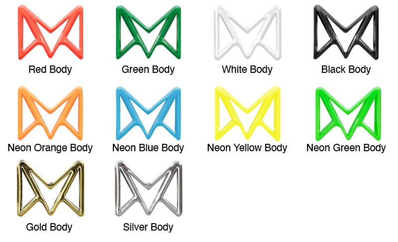 Material Swatches for each Color Device for Mi-Pod Customs