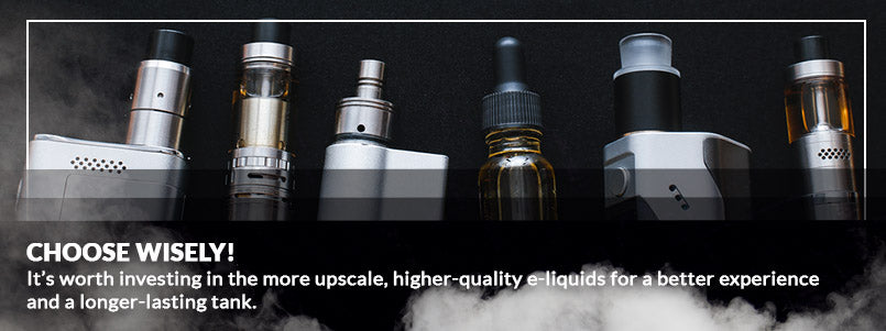 Choose the right e-liquid