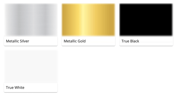 Material Swatches for each Original Device for Mi-Pod Customs