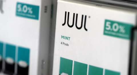 Juul pods at a smoke shop