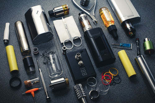 components of vape mod accessories