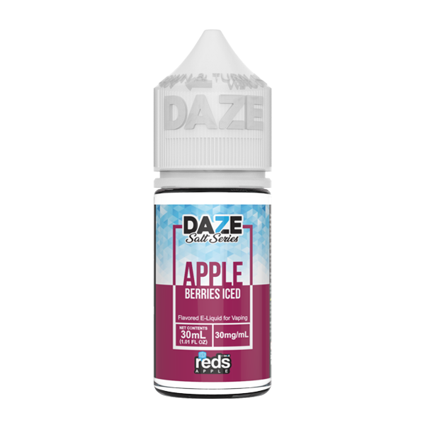 Apple and berry flavored e-liquid in 30mg from the reds collection, made by 7 daze