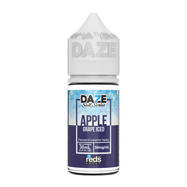 Apple and grape flavored e-liquid in 30mg from the reds collection, made by 7 daze