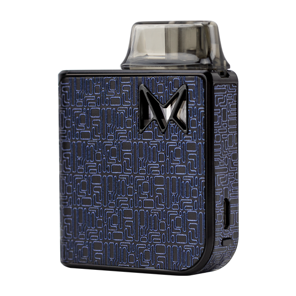 The Blue Digital Model of the award-winning Mi-Pod PRO, the best starter vape pen for nic salts