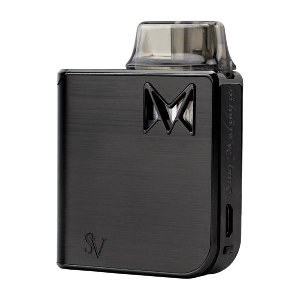The Black Metal Mi-Pod PRO, an extremely durable and reliable vaporizer pen for nic salts