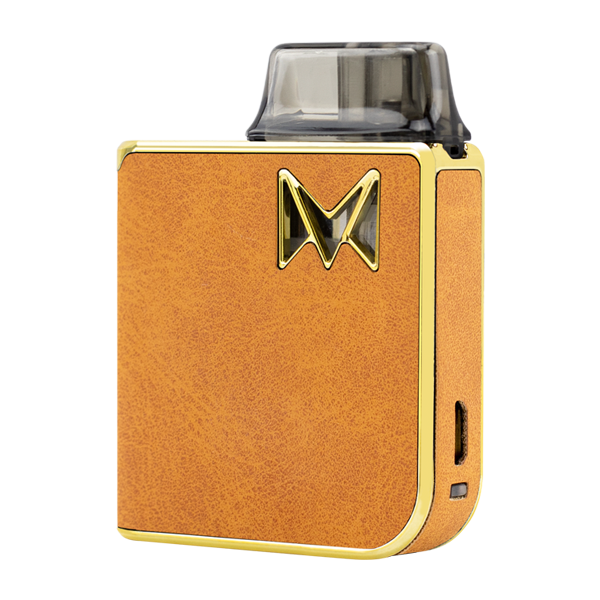 Combining reliable vape mods with classy gentleman styles, available here with the Brown Suede Mi-Pod PRO