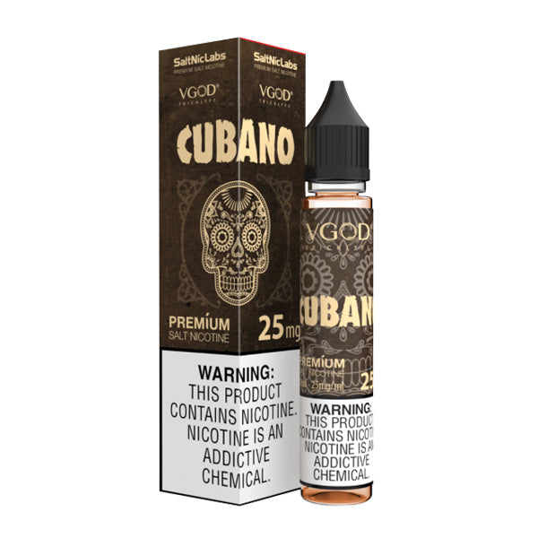 creamy cigar flavored nic salt vape juice by vgod