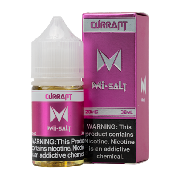 MiSalt Currant vape juice flavor 20MG