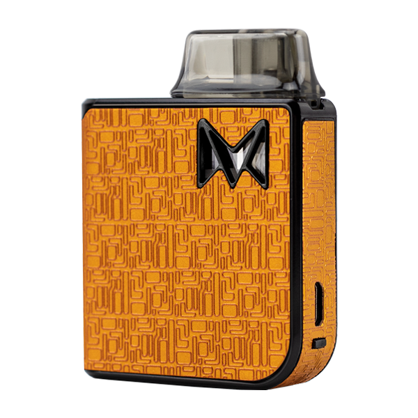 The Orange Digital Model of the award-winning Mi-Pod PRO, the best starter vape pen for nic salts