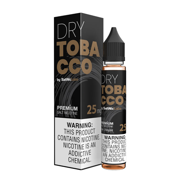 Smooth and sweet tobacco flavored nicotine salts, Dry Tobacco SaltNic is a V-GOD Eliquid