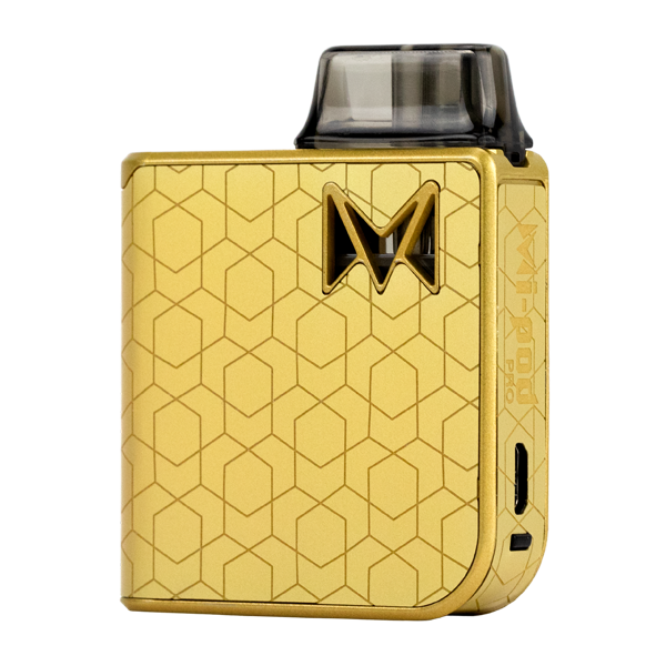 Available here in Gold Alloy, experience the most luxurious pod system with Mi-Pod PRO