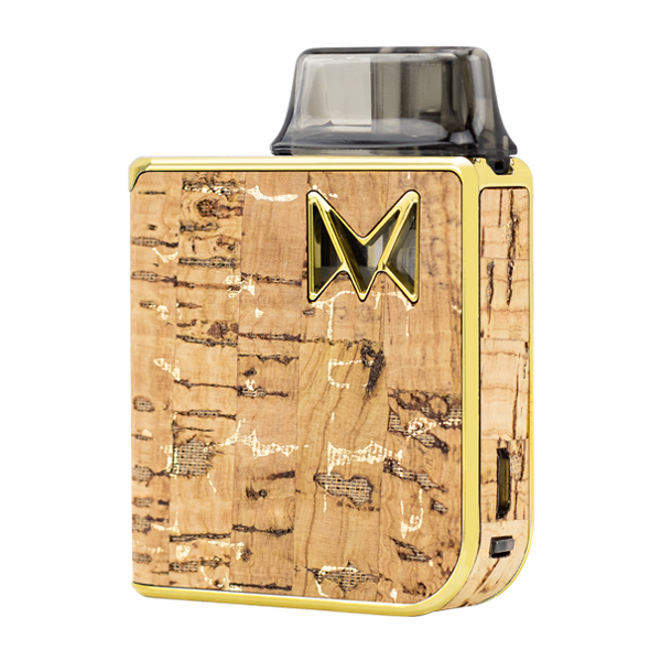 Made with elegance and fine taste, the Gold Cork Mi-Pod PRO was made for use with nicotine salts