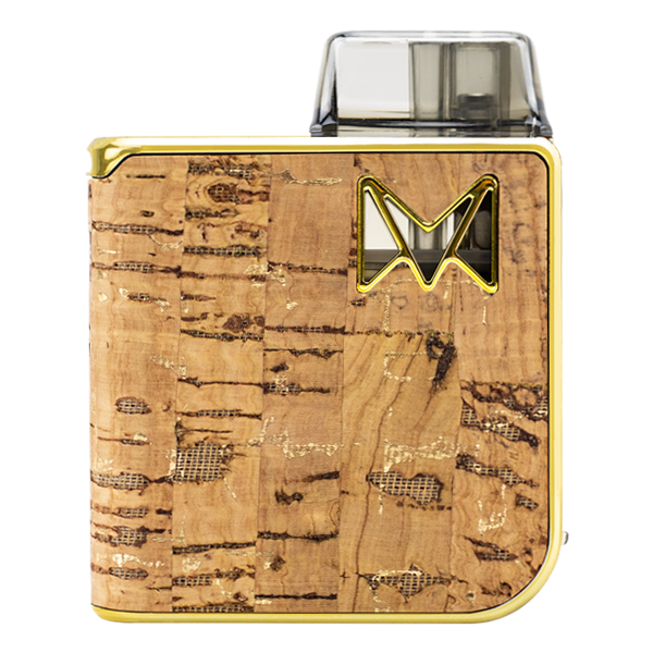 As seen here in Gold Cork, the Mipod Pro is the best vape device for nic salts
