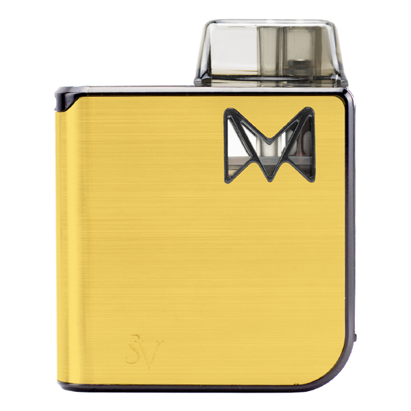 Available here in Gold Metal, the Mipod Pro is a highly popular pod vape for nicotine salts