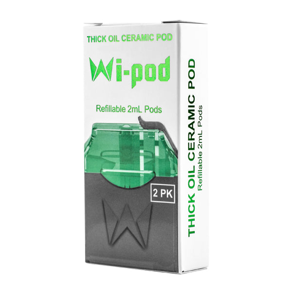 WiPod Thick Oil Pods for Concentrates