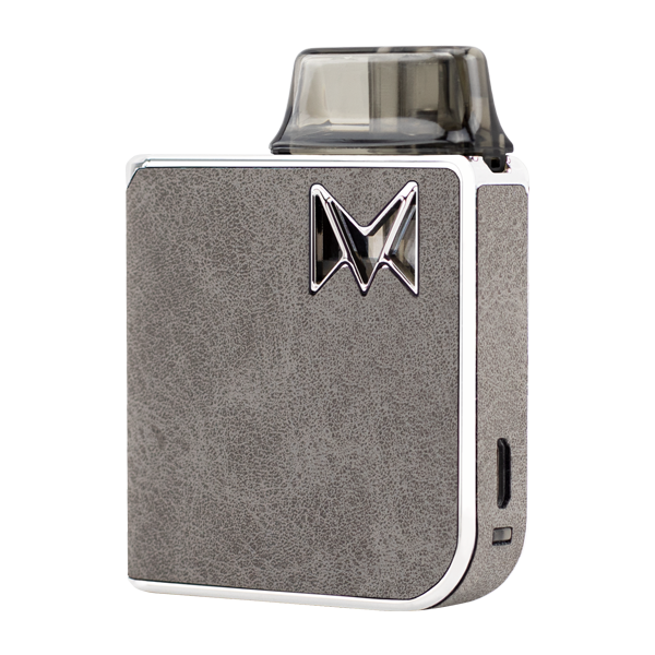 Combining reliable vape mods with classy gentleman styles, available here with the Grey Suede Mi-Pod PRO