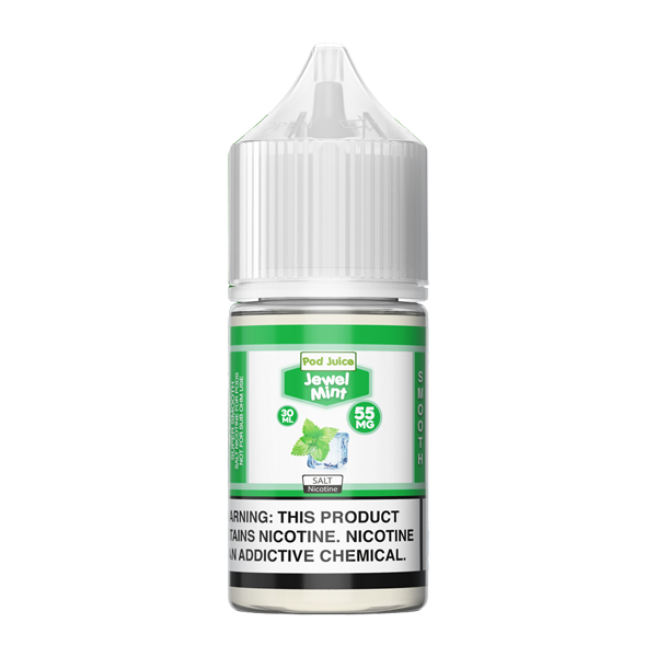 Shop low priced vape juice online with jewel mint pod juice in nicotine strengths of 5% and 3.5%