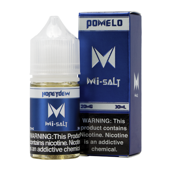 Honeydew Mi-Salt is a fruity flavored vape juice, blended with nicotine salts