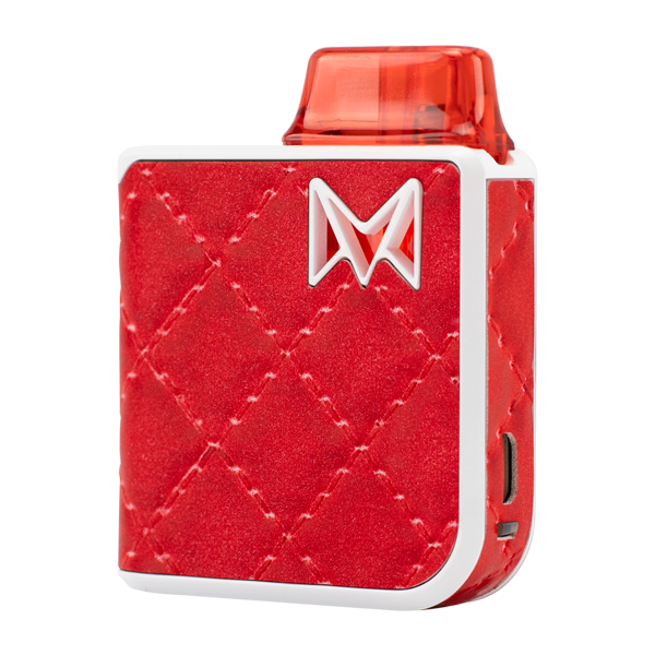 Available here in Royal Red, experience the most luxurious pod system with Mi-Pod PRO
