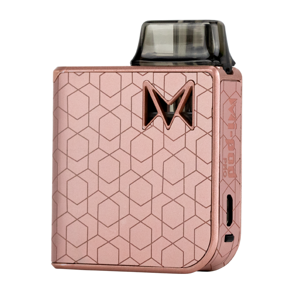 Available here in Rose Alloy, experience the most luxurious pod system with Mi-Pod PRO
