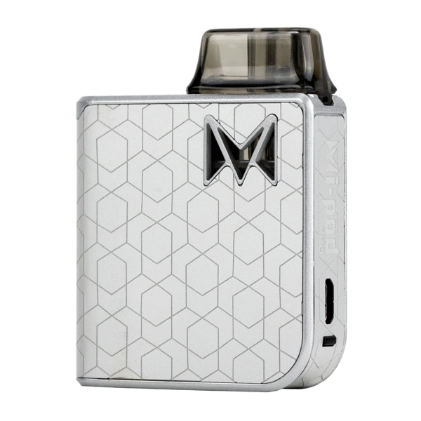 Available here in Nickel Alloy, experience the most luxurious pod system with Mi-Pod PRO