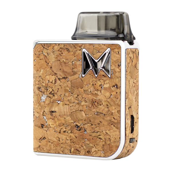 Made with elegance and fine taste, the Silver Cork Mi-Pod PRO was made for use with nicotine salts