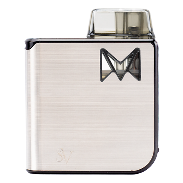 Available here in Silver Metal, the Mipod Pro is a highly popular pod vape for nicotine salts