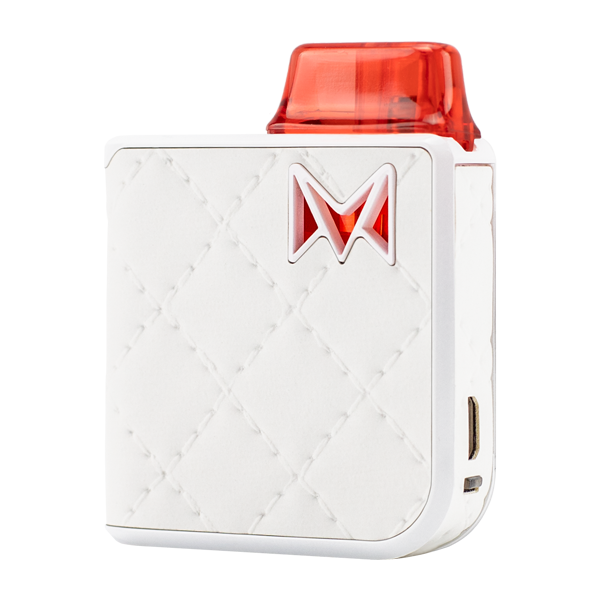 Available here in Royal White, experience the most luxurious pod system with Mi-Pod PRO