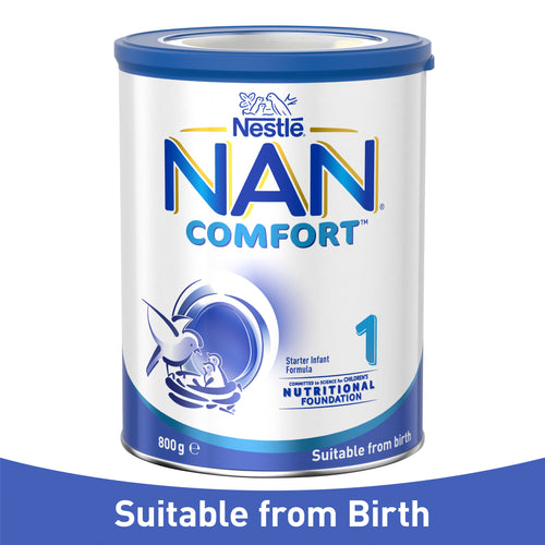 Nestlé NAN COMFORT 1, Suitable From Birth Starter Baby Formula Powder – 800g