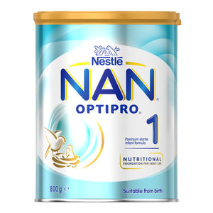 Nestlé NAN OPTIPRO 1, Starter 0-6 Months Infant Formula Powder – 800g