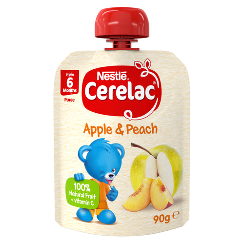 CERELAC Apple & Peach pouch - 90g