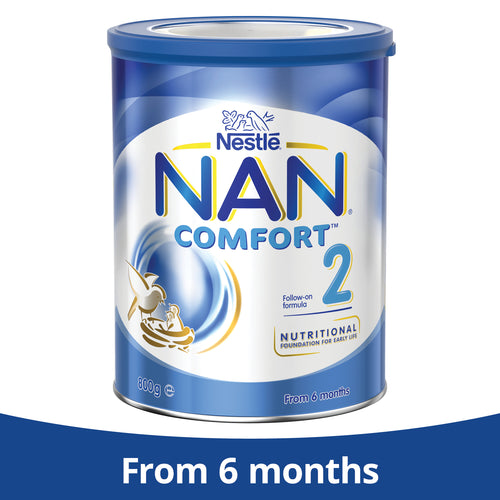 Nestlé NAN COMFORT 2, Follow-On Formula 6-12 Months Powder – 800g