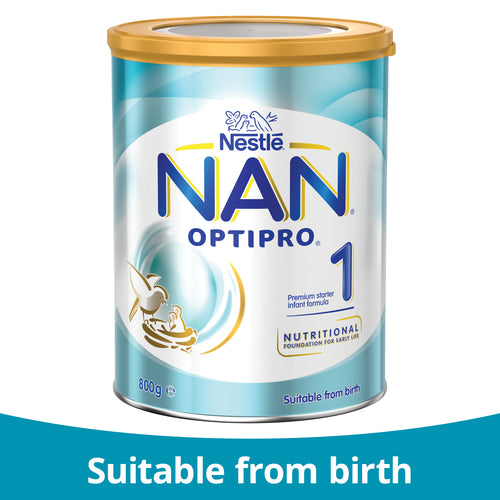 Nestlé NAN OPTIPRO 1, Starter Infant Formula Powder From Birth – 800g